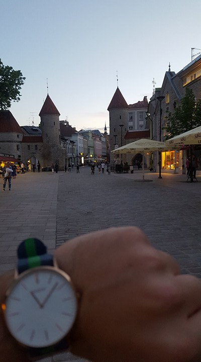 11Pm in Tallinn, Estonia